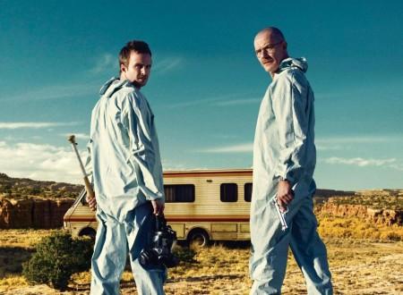 Walter White et Jesse Pinkman dans Breaking Bad