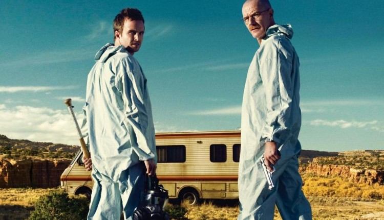 Walter White et Jesse Pinkman dans Breaking Bad