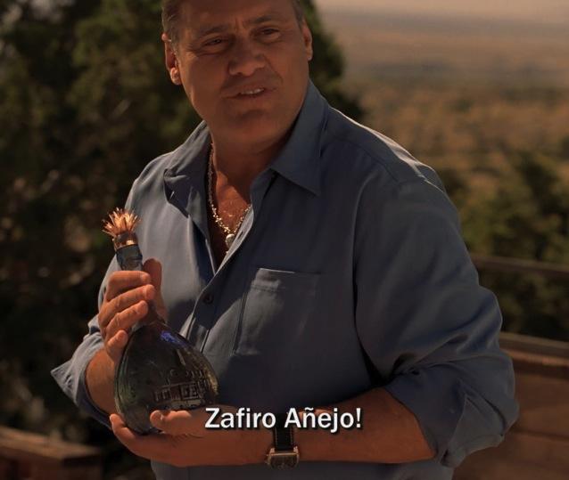 Tequila Zafiro Anejo
