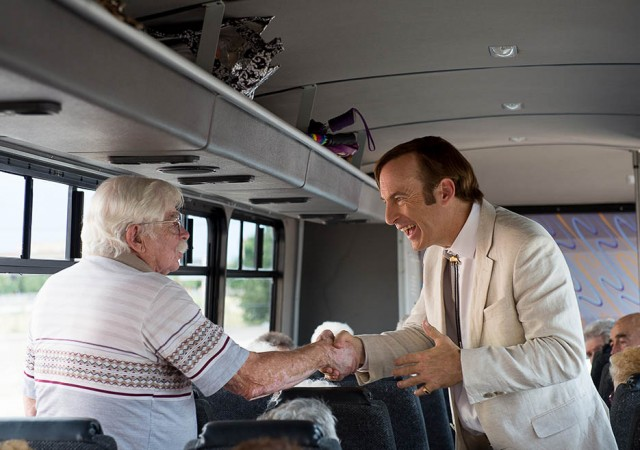 Jimmy McGill Sandpiper Crossing Bus