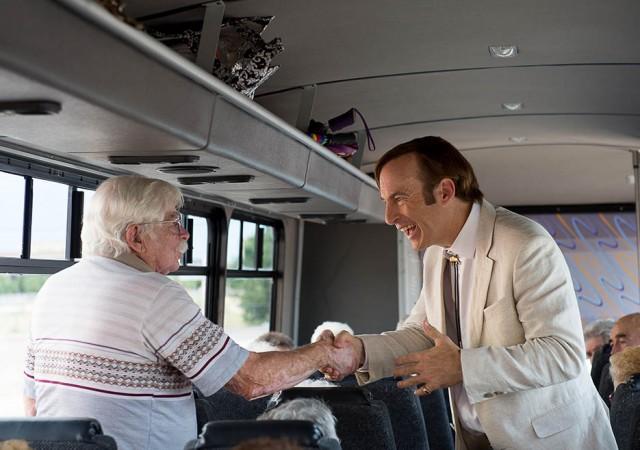 Jimmy McGill Sandpiper Crossing Bus