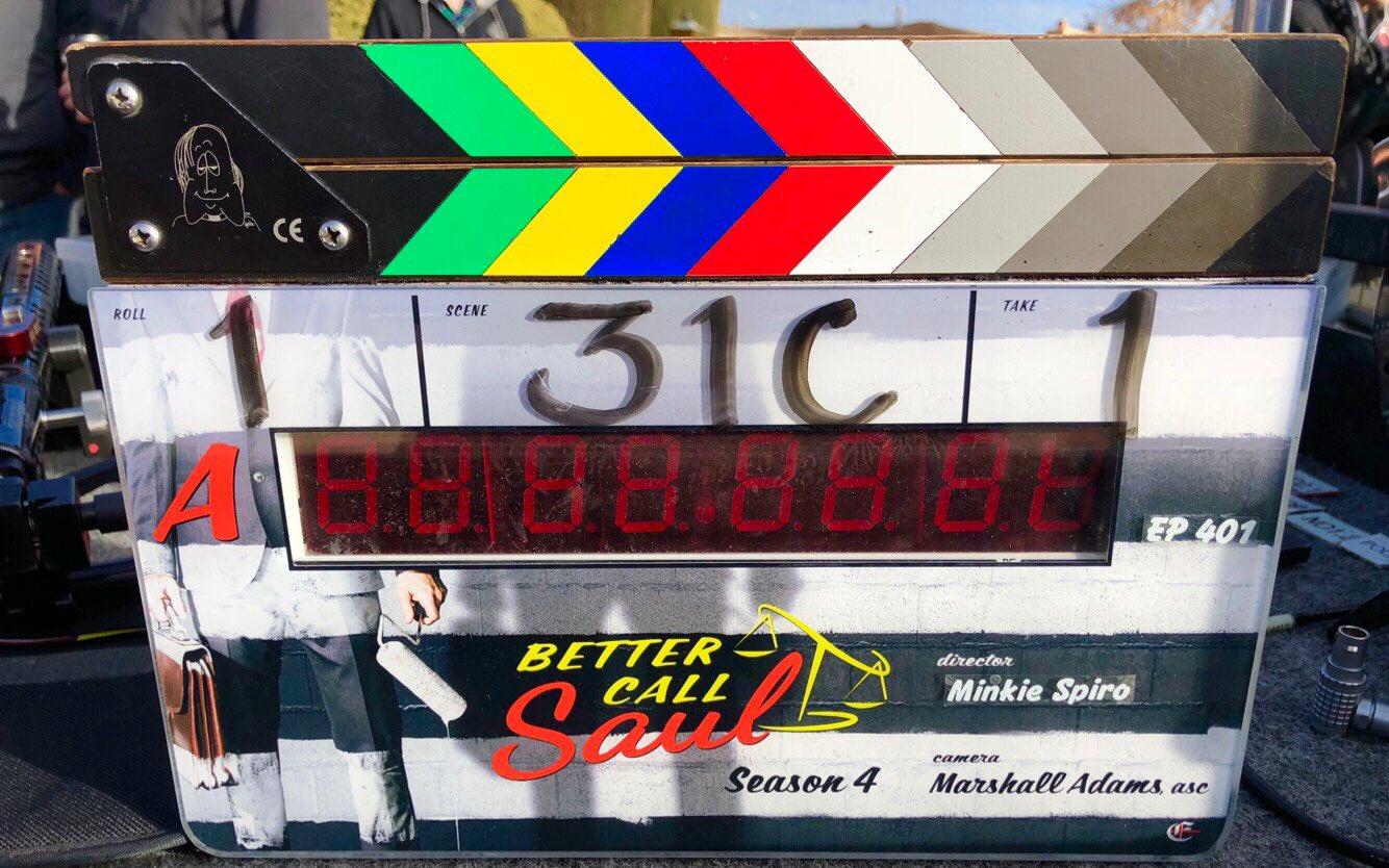 Le tournage de la saison 4 de Better Call Saul a débuté