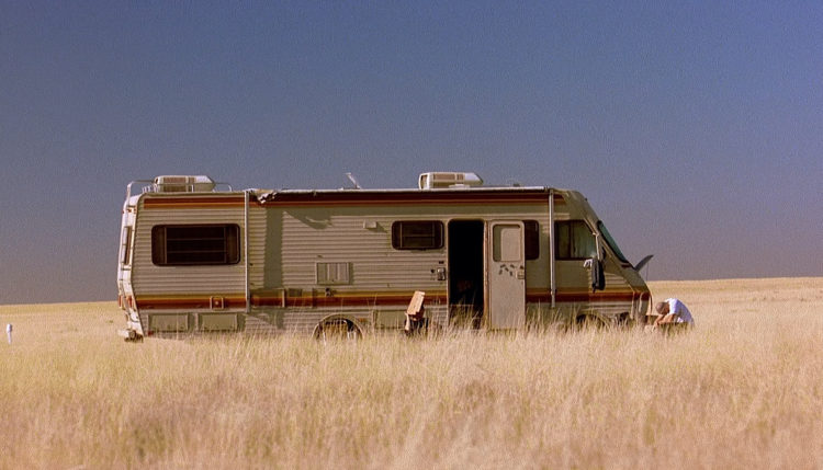 Camping Car Breaking Bad