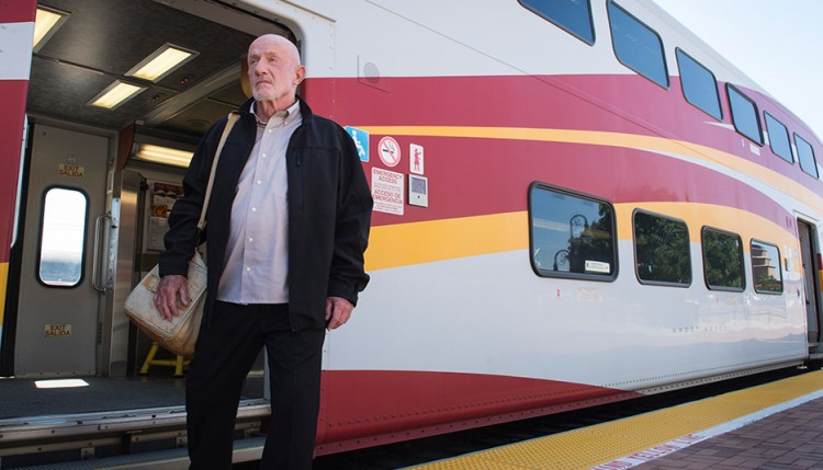 Mike Ehrmantraut Train Albuquerque