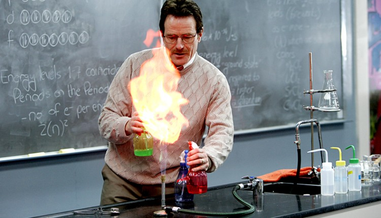Walter White Teacher
