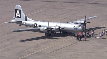 Bombardier B-29 sur le tournage de Better Call Saul