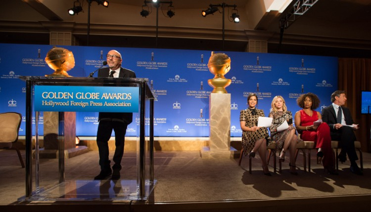 Hollywood Foreign Press Association, 2016 Golden Globes Announcement