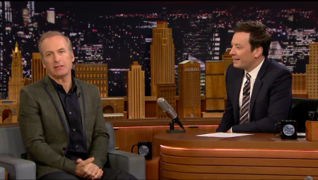 Bob Odenkirk at The Tonight Show Jimmy Fallon